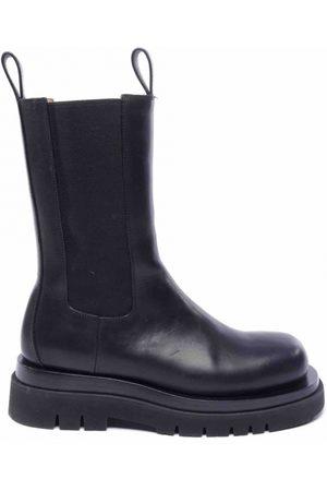 Bottega Veneta Storm Leather Ankle boots for Women