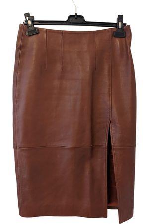 Ganni \N Leather Skirt for Women