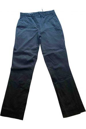 Jil Sander \N Cotton Trousers for Women