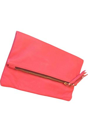 Maje \N Leather Clutch Bag for Women