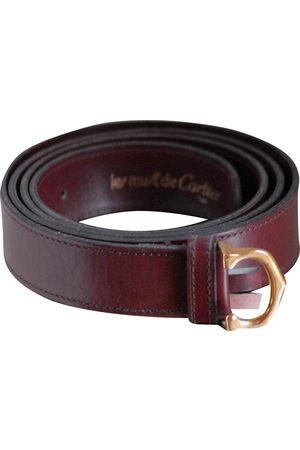 Cartier Men Belts - VINTAGE \N Leather Belt for Men