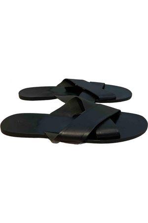 Ancient Greek Sandals \N Leather Sandals for Men