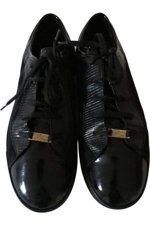 Salvatore Ferragamo \N Leather Trainers for Men
