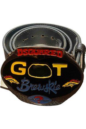 Dsquared2 Men Belts - \N Leather Belt for Men