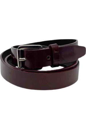 Dior VINTAGE \N Leather Belt for Women