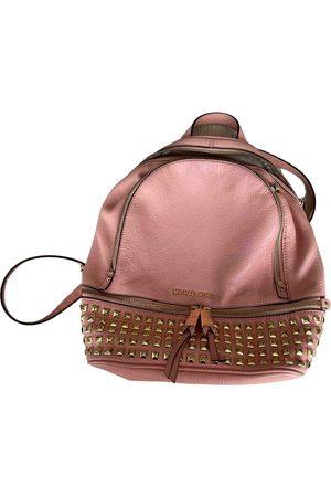 Michael Kors Rhea Leather Backpack for Women