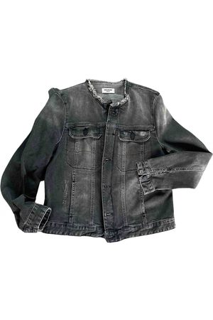 Zadig & Voltaire \N Denim - Jeans Leather Jacket for Women