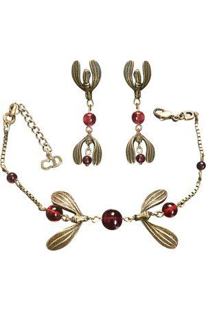 Dior VINTAGE \N Pearls Jewellery Set for Women
