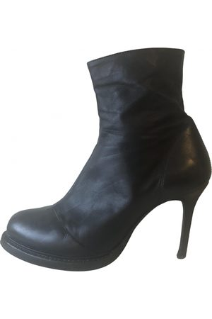 ANN DEMEULEMEESTER VINTAGE \N Leather Ankle boots for Women