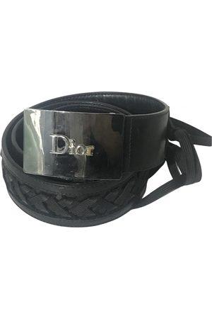 Dior VINTAGE \N Leather Belt for Women