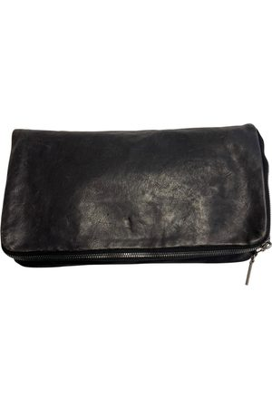 Helmut Lang Women Clutches - \N Leather Clutch Bag for Women