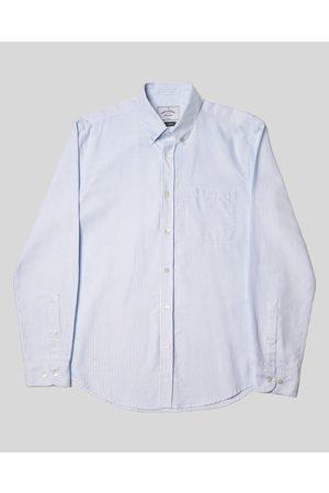 Portuguese Flannel Belavista Stripe Shirt - Light