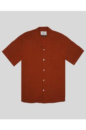 Portuguese Flannel Catown Shirt - Terracota