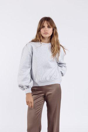 Ame Women Sweatshirts - Clemence Sweatshirt Marled Grey