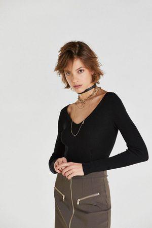 Patrizia Pepe Bodysuit Sweater