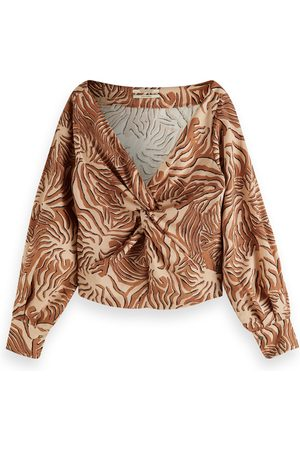 Scotch&Soda Knotted Top Tiger