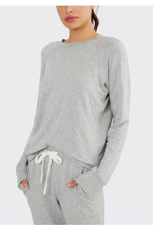 Splits59 Women Sweatshirts - Warm Up Fleece Sweatshirt Grey