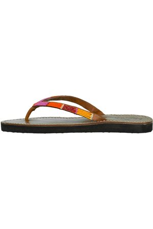 ASPIGA Naisha Embroidered Flip Flop