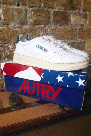 Autry Sneakers - Unisex Low & Navy Space Trainers