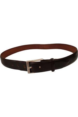 Tod's \N Leather Belt for Men
