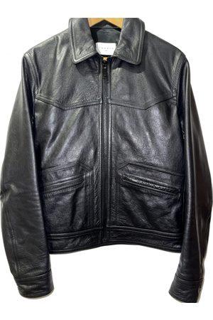 Sandro Fall Winter 2019 Leather Jacket for Men
