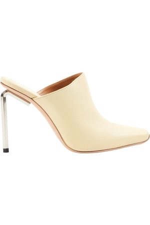OFF-WHITE Women Mules - \N Leather Mules & Clogs for Women