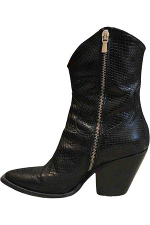 ..,MERCI \N Leather Ankle boots for Women