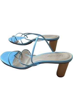 Reformation \N Leather Sandals for Women