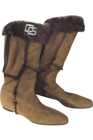 Dolce & Gabbana \N Suede Boots for Women