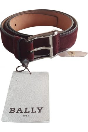 Bally \N Suede Belt for Men