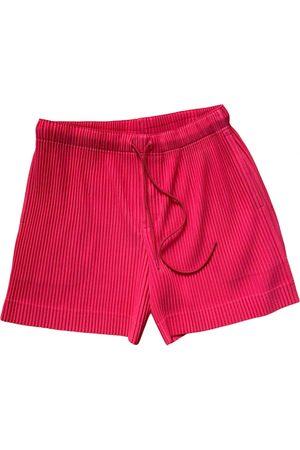 Pleats Please Cotton Shorts