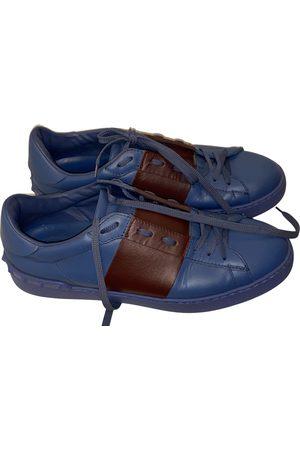 VALENTINO GARAVANI Men Sneakers - Backnet Leather Trainers for Men