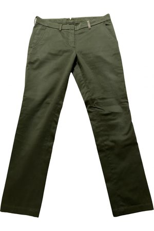 Source Unknown \N Cotton Trousers for Women