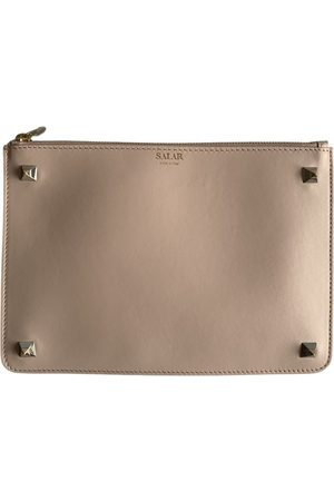 SALAR \N Leather Clutch Bag for Women
