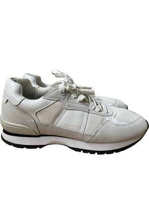 Sandro \N Leather Trainers for Men
