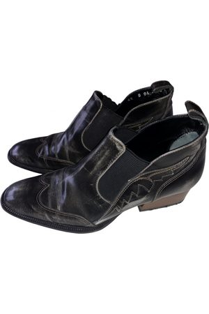 Robert Clergerie VINTAGE \N Leather Ankle boots for Women
