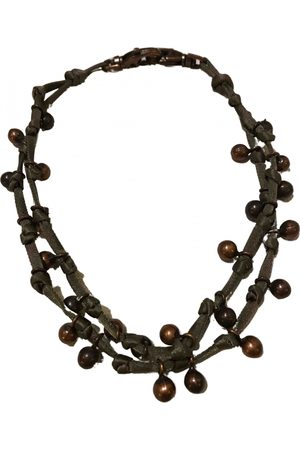 Max Mara Women Necklaces - \N Silk Necklace for Women