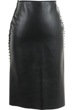 DION LEE \N Leather Skirt for Women