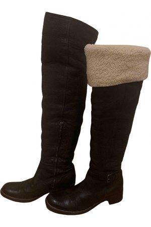 Miu Miu Women Boots - \N Leather Boots for Women
