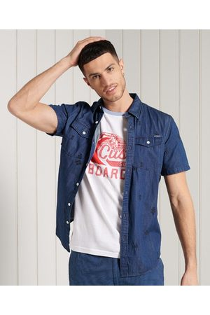 Superdry Short Sleeve Denim Loom Shirt