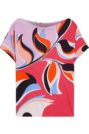 Emilio Pucci Women Short Sleeve - Woman Printed Jersey T-shirt Size 42