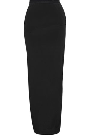 Rick Owens Women Maxi Skirts - Woman Soft Pilar Crepe De Chine Maxi Skirt Size 38