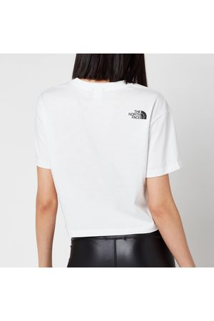 The North Face Women's Cropped Simple Dome Short Sleeve T-Shirt