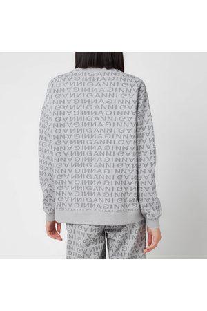 Ganni Women Sweatshirts - Women's Jacquard Isoli Sweatshirt