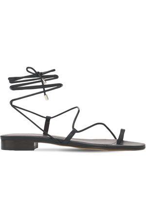 EMME PARSONS 10mm Susan Leather Thong Sandals