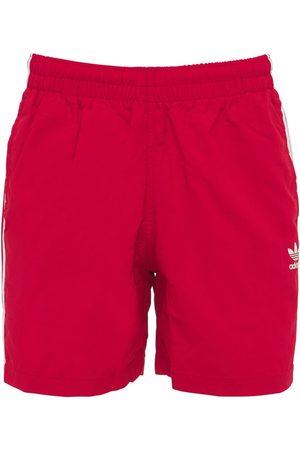 ADIDAS ORIGINALS Primegreen 3-stripe Tech Swim Shorts