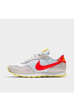 Nike Boys Casual Shoes - Boys' Big Kids' MD Valiant Casual Shoes in Grey/Light