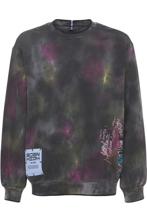 McQ Eden High Tie Dye Cotton Sweatshirt