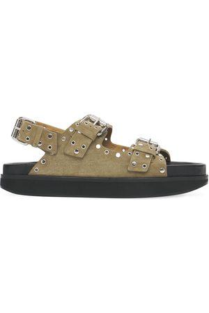 ISABEL MARANT 30mm Ophie Studded Suede Sandals