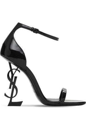 Saint Laurent 110mm Opyum Patent Leather Sandals